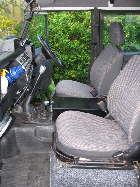 defender front seats