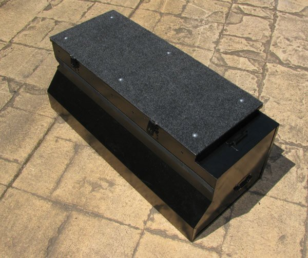 landrover army storage box