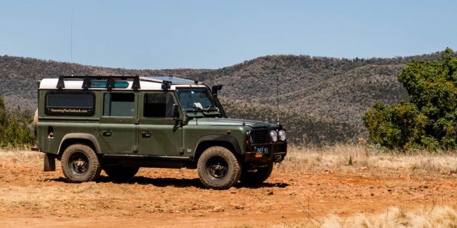 land rover defender touring
