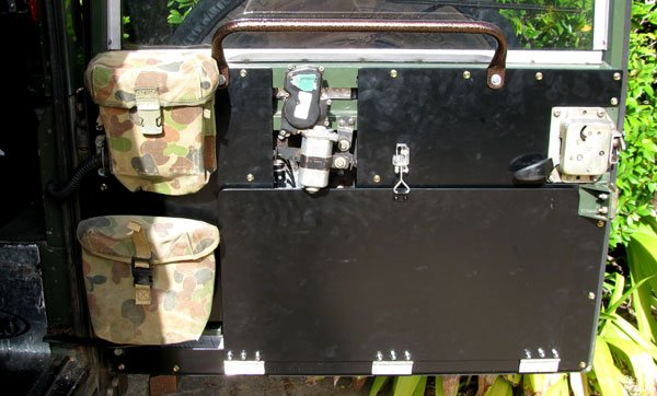 Defender Rear Door Table My Kitchen Roaming The Outback