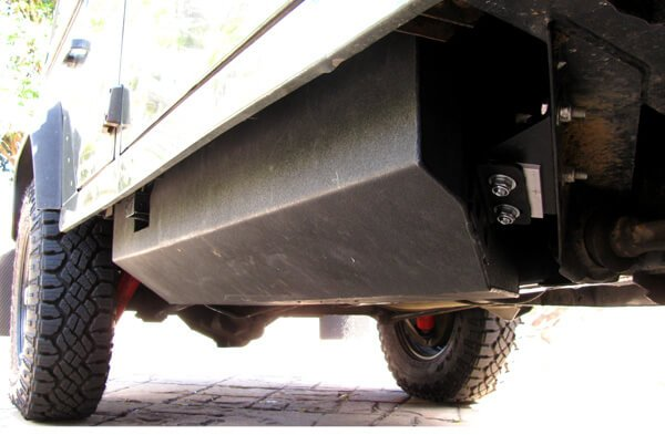 Defender Sill Fuel Tank Upgrade