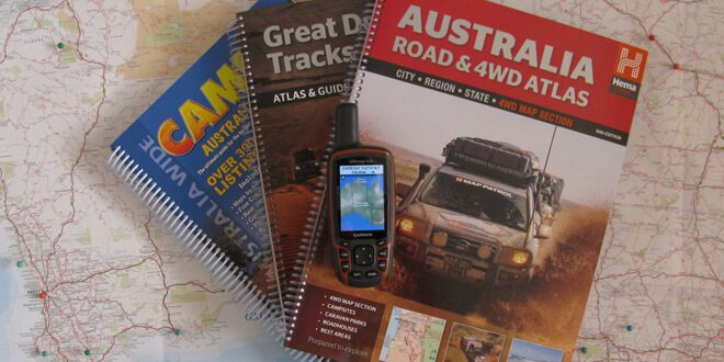 maps for travelling australia