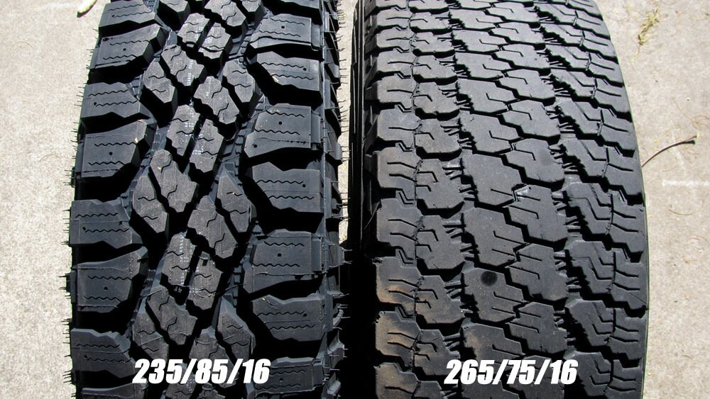 goodyear duratrac and silent armor