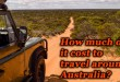 how much does it cost to travel around australia